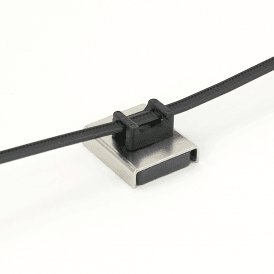 Magnetic Cable Tie Mount 26 x 23 x 6.3mm thick 6.1kg Pull (Pack of 20)