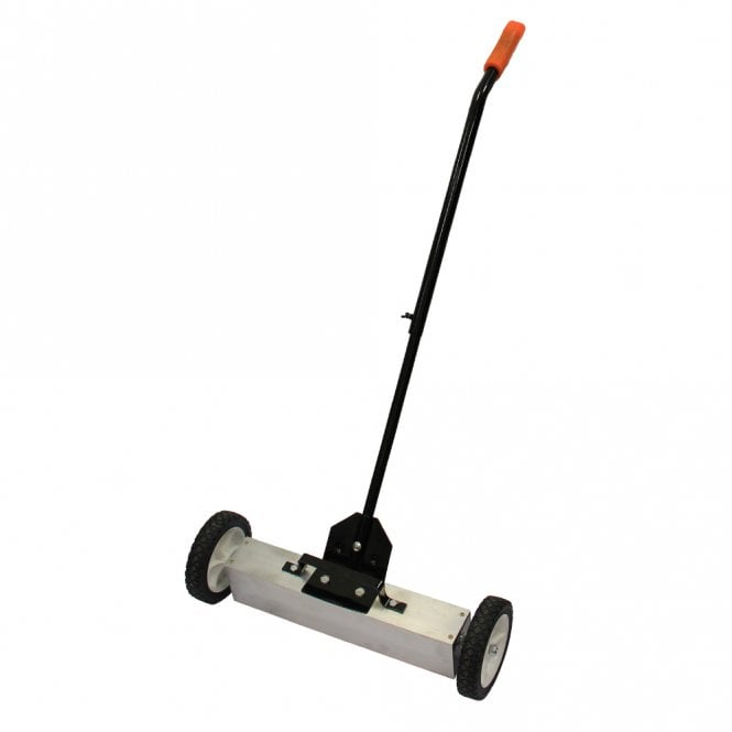 "Magnetic Sweeper With Switchable Release - Sweeps Nails & Screws Quickly (22""wide)"