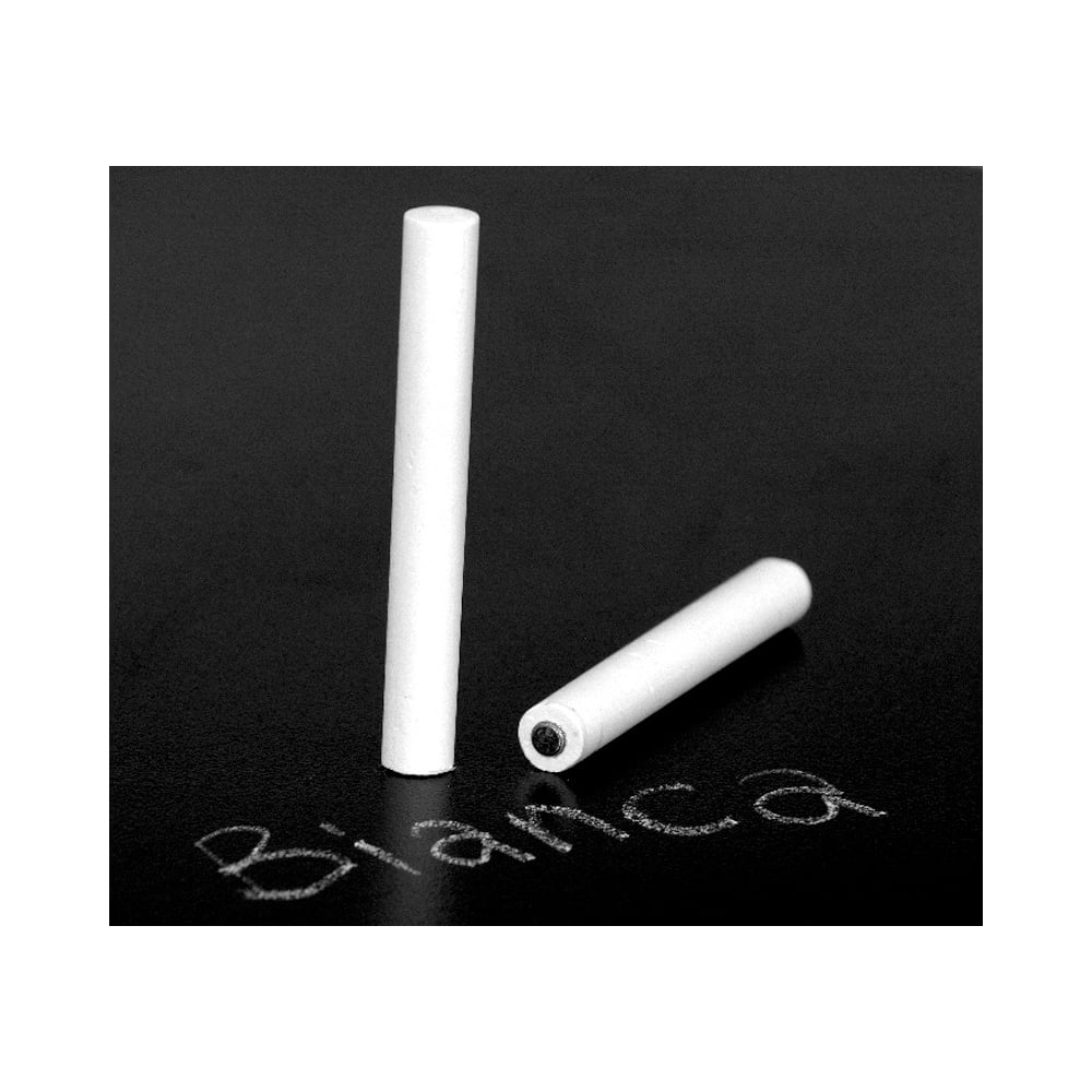 Magnetically Attachable White Chalk Pack Of 2