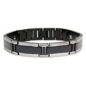 Magnets4 - Men's Rare Earth Magnetic Bracelet with Fold-over Clasp – Neutrino