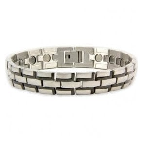 Magnets4 - Men's Rare Earth Magnetic Bracelet with Fold-over Clasp – Pulsar