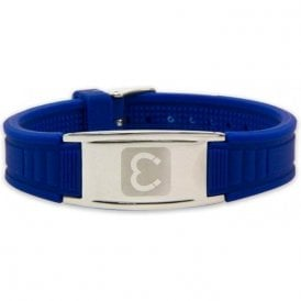 Magnets4 - Unisex Rare Earth Magnetic Sports Bracelet - Blue