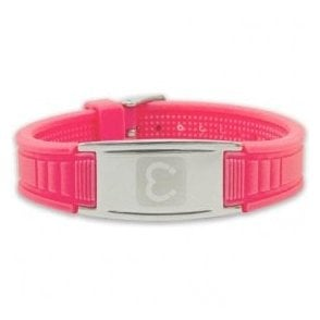 Magnets4 - Unisex Rare Earth Magnetic Sports Bracelet - Pink