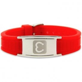 Magnets4 - Unisex Rare Earth Magnetic Sports Bracelet - Red
