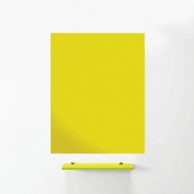MagniPlan 900mm x 600mm Coloured Magnetic Glass Wipe Boards