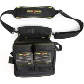 Magnogrip 20 Pocket Magnetic Electrician Pouch with Shoulder Strap