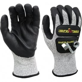 Magnogrip Impact Cut Resistant Touch Screen Magnetic Glove - M