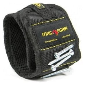 Magnogrip Magnetic Wristband - Black