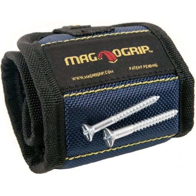 Magnogrip Magnetic Wristband - Blue