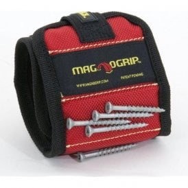Magnogrip Magnetic Wristband - Red