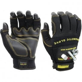Magnogrip Pro Fingerless Magnetic Glove - M
