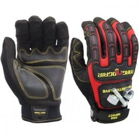 Magnogrip Pro Impact Utility Touch Screen Magnetic Glove - M