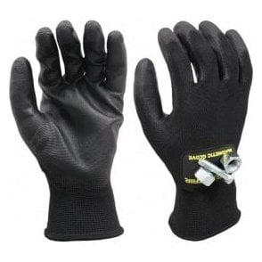 Magnogrip Super Grip PU Coated Touch Screen Magnetic Glove