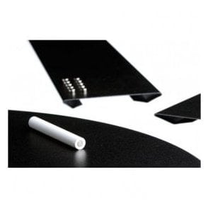 Medium Magnetic Chalk Board c/w Magnets & Chalk (560 x 220mm)