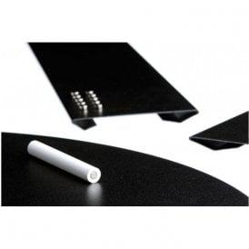 Medium Magnetic Chalk Board c/w Magnets & Chalk (560 x 220mm)