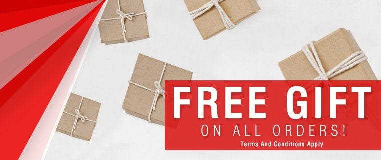 Free gift on £50 spend