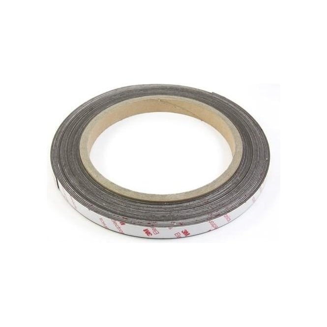 NeoFlex® 12mm Wide Flexible Neodymium Magnetic Strip - 3M Self Adhesive