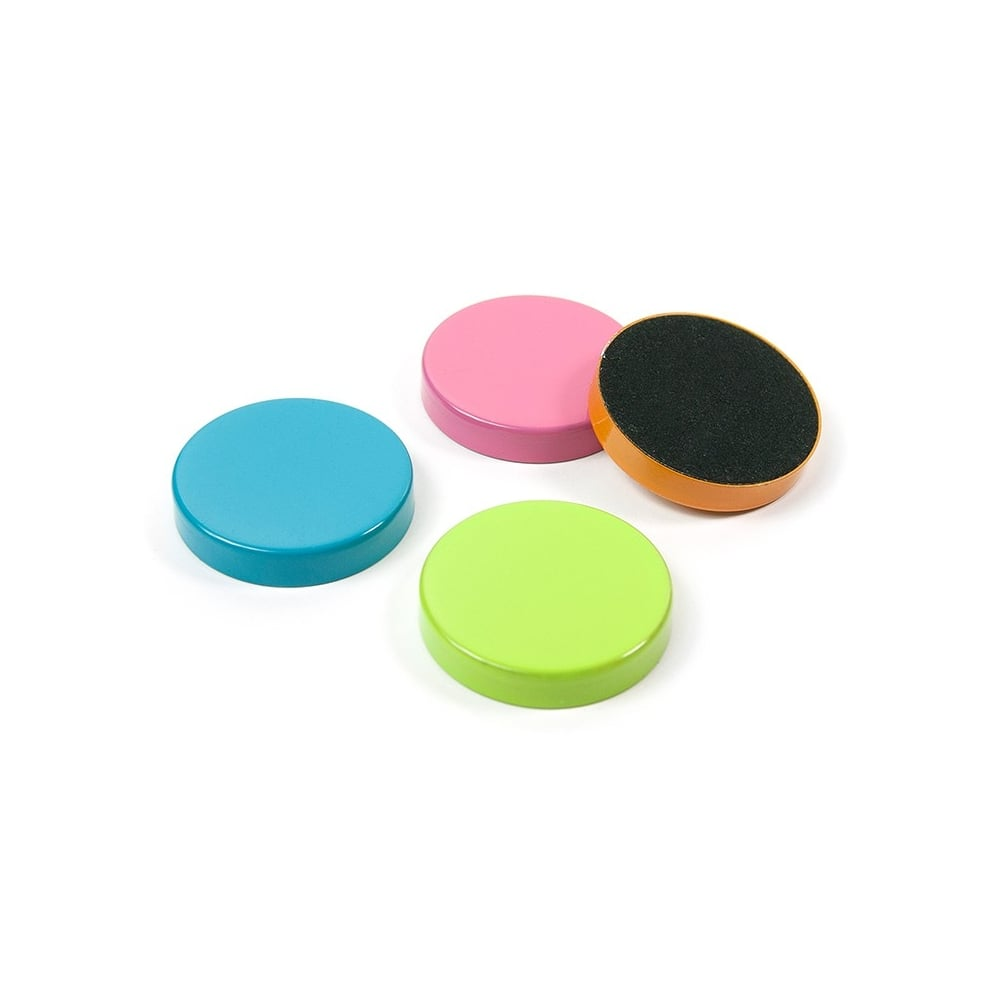 Plain Circular Office Magnets Assorted First4magnets Com