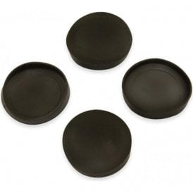 Rubber Cap Suitable for 25mm dia Magnets (26mm dia x 4mm high x 0.5mm thick) (Pack of 80)
