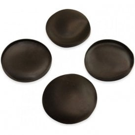 Rubber Cap Suitable for 60mm dia Magnets (61mm dia x 6mm high x 0.5mm thick) (Pack of 4)