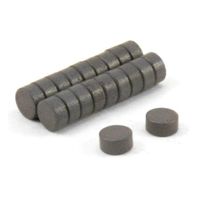 (Seconds) 6mm dia x 3mm thick Y10 Ferrite Magnets