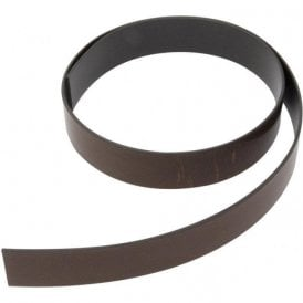 (Seconds) MagFlex® 25.4mm Wide Flexible Magnetic Tape - Premium Self Adhesive - 770mm
