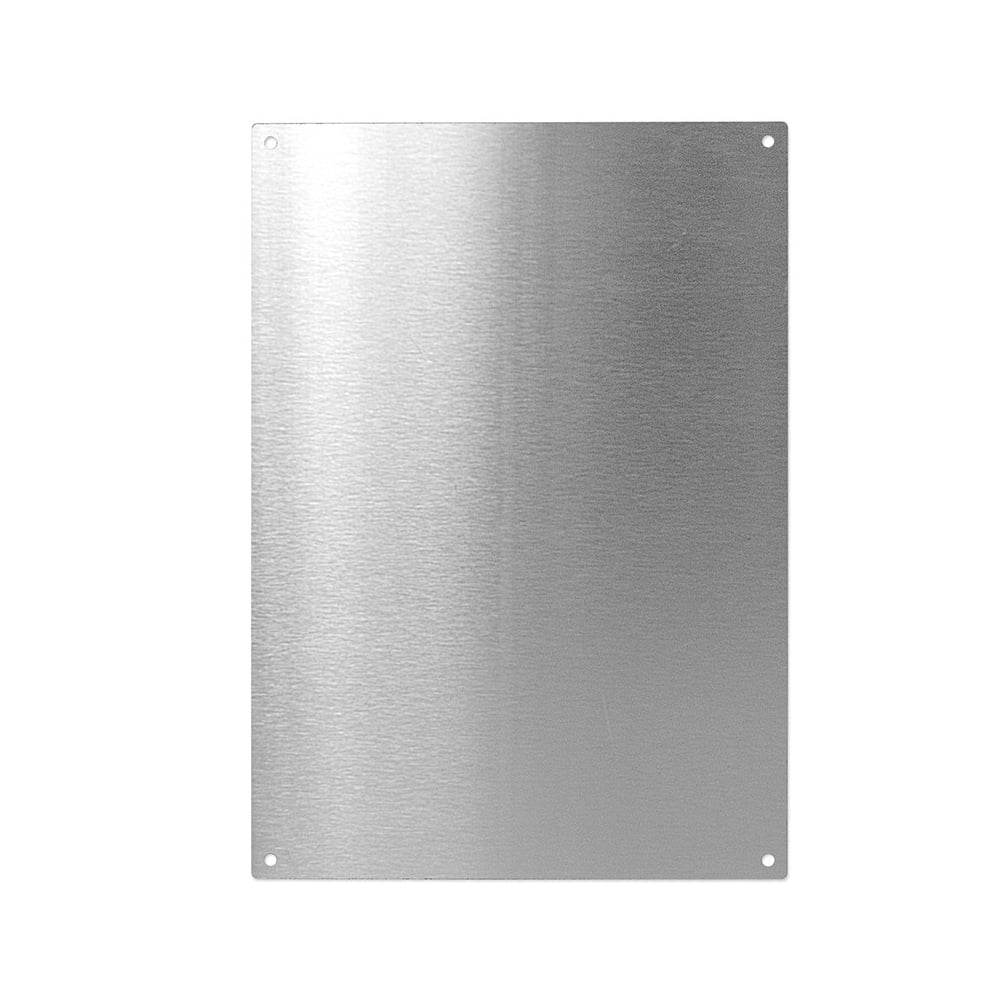 Stainless Steel A4 Magnetic Board C W 5 Magnets 297 X