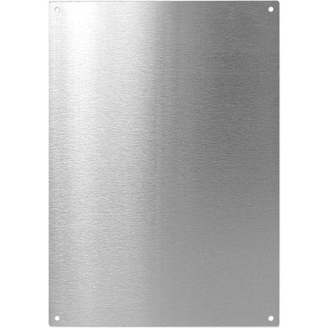 Stainless Steel A4 Magnetic Board c/w 5 Magnets (297 x 210mm)