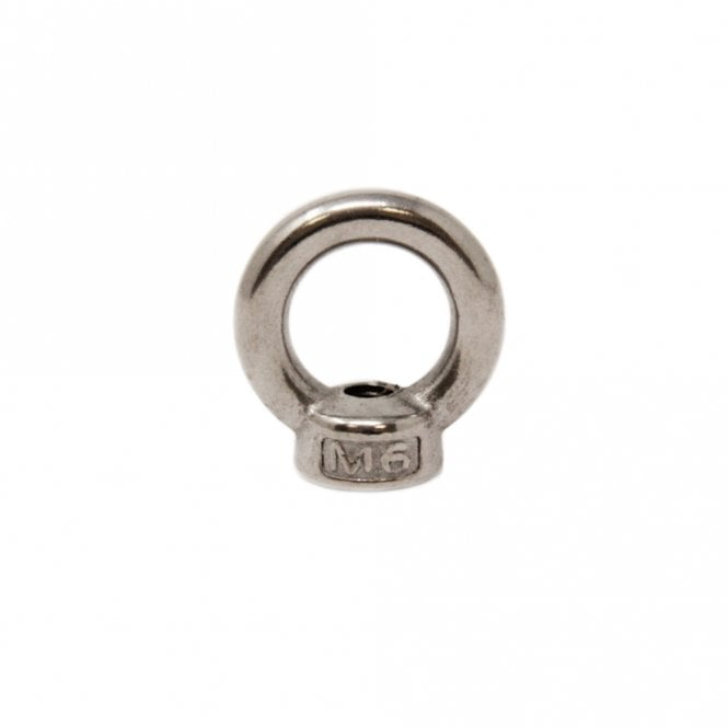 Stainless Steel M6 Eye Nut (Female)