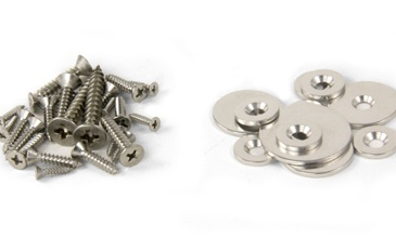 Steel Discs, Screws & Adhesives