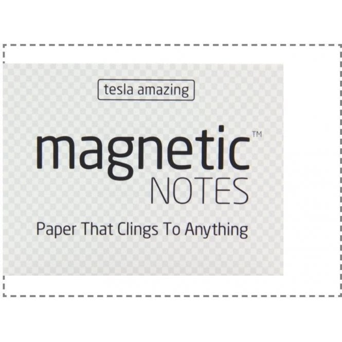Tesla Amazing Magnetic Notes - 6 Colours (100mm x 70mm)