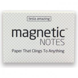 Tesla Amazing Magnetic Notes - Transparent (70 x 50mm) (Pack of 100)
