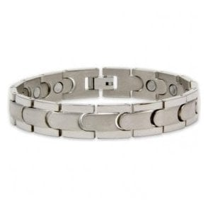 Unisex Rare Earth Magnetic Bracelet with Fold-over Clasp – Centauri