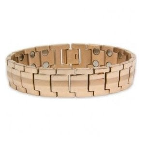 Unisex Rare Earth Magnetic Bracelet with Fold-over Clasp – Neptune