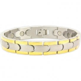 Unisex Rare Earth Magnetic Bracelet with Fold-over Clasp – Velorum