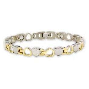 Women's Rare Earth Magnetic Bracelet with Fold-over Clasp – Aurora